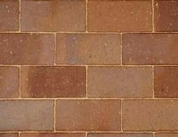 Nutmeg Paver - Paving brick