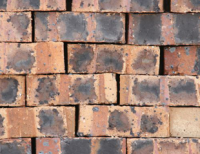 Rhodium Dark Satin - Semi Face Brick